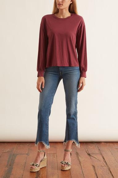 Lillie Top in Sangria