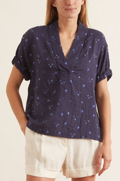 Avery Top in Navy