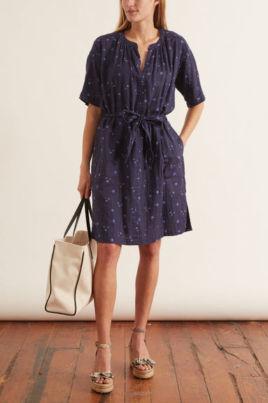 Britt Dress in Navy