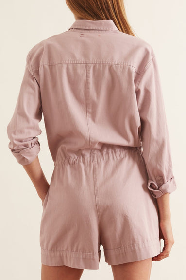 Georgie Romper in Lavender