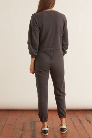 Jenn Fleece Jumpsuit in Ember