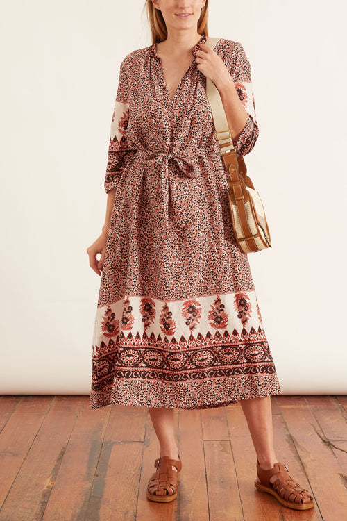 Joni Dress in Henna