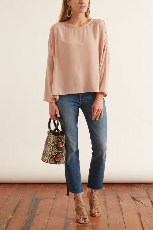 Tanner Top in Blush