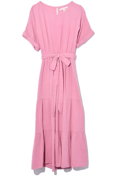 Aeryn Dress in Bella Rose