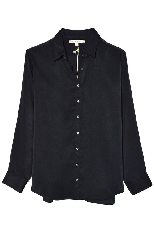Beau Shine Shirt in Black
