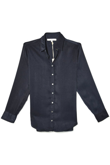 Beau Shine Shirt in Twilight Blue
