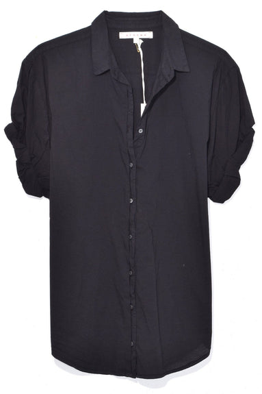 Channing Shirt in Jet Black