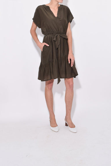 Dani Dress in Kelp