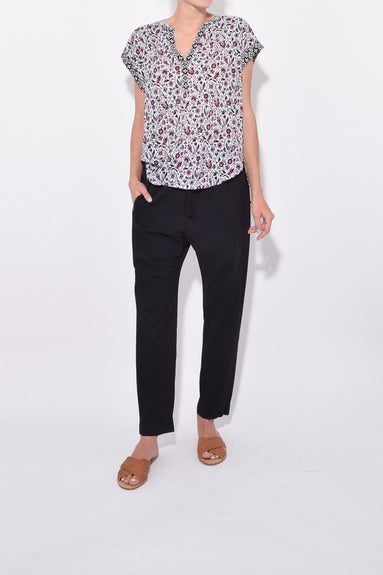 Draper Pants in Jet Black