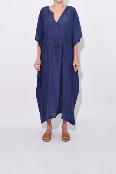 Eliza Dress in Blue Lagoon