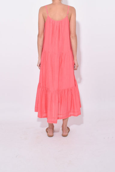 Lina Dress in Coral