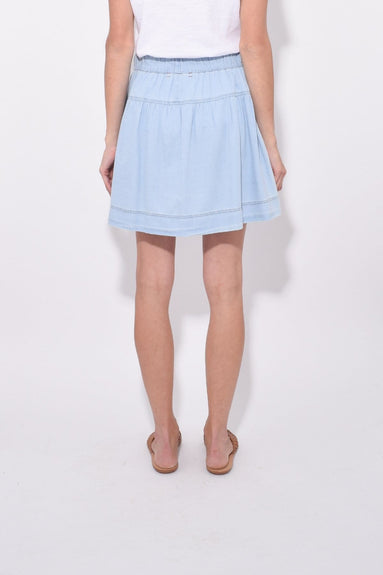 Skater Skirt in Sky High