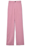 Thatcher Pant in Mauve Rose