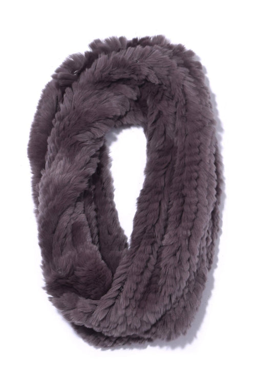Rex Rabbit Snood in Grey