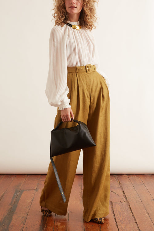 Wavelength Wide Leg Trouser in Olive