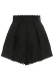 Kirra Trim Short in Noir
