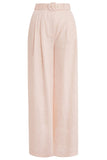 Super Eight Wide Leg Trouser in Shell