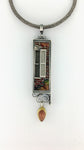 New Orleans Collection Windows Cloisonne Pendant 3