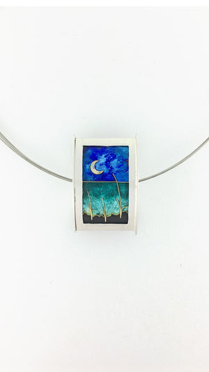 Double-sided Seascape Bead