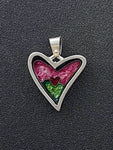 Hearts - Watermelon Heart Pendant