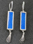 Blue Branches Earrings