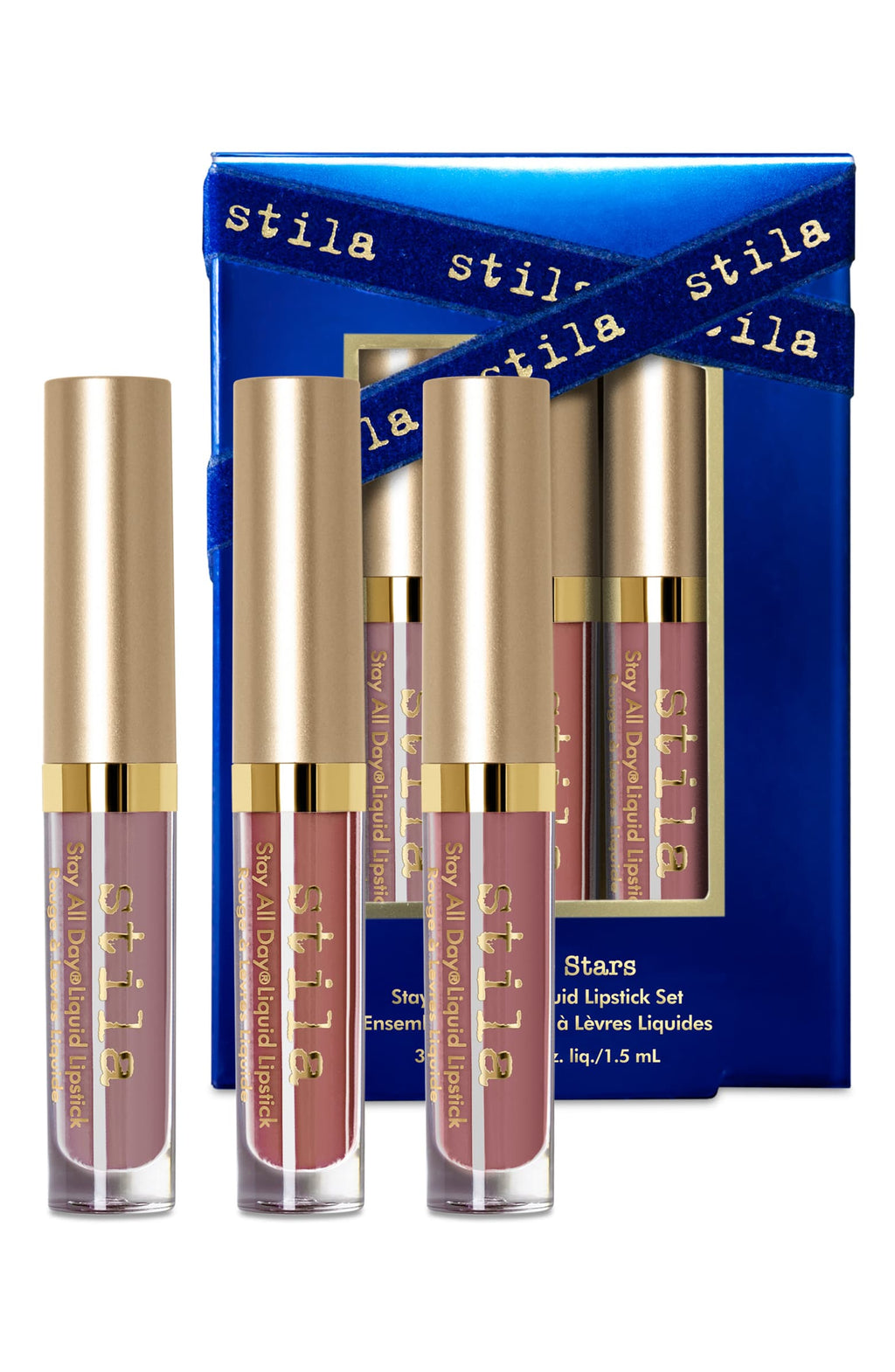 Kiss The Stars Stay All Day® Travel Size Liquid Lipstick Set