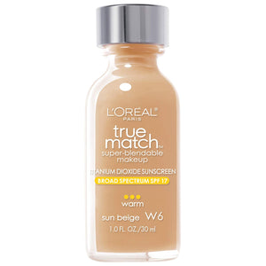 TRUE MATCH FOUNDATION - SUN BEIGE W6