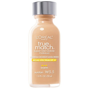 TRUE MATCH FOUNDATION - SUNTAN W5.5
