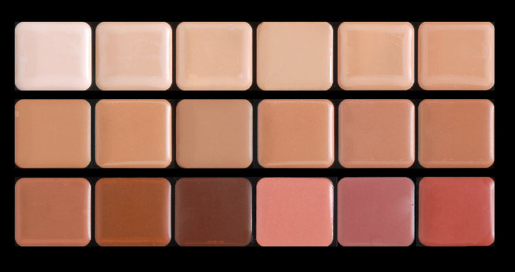 HD Glamour Creme Super Palette - Cool
