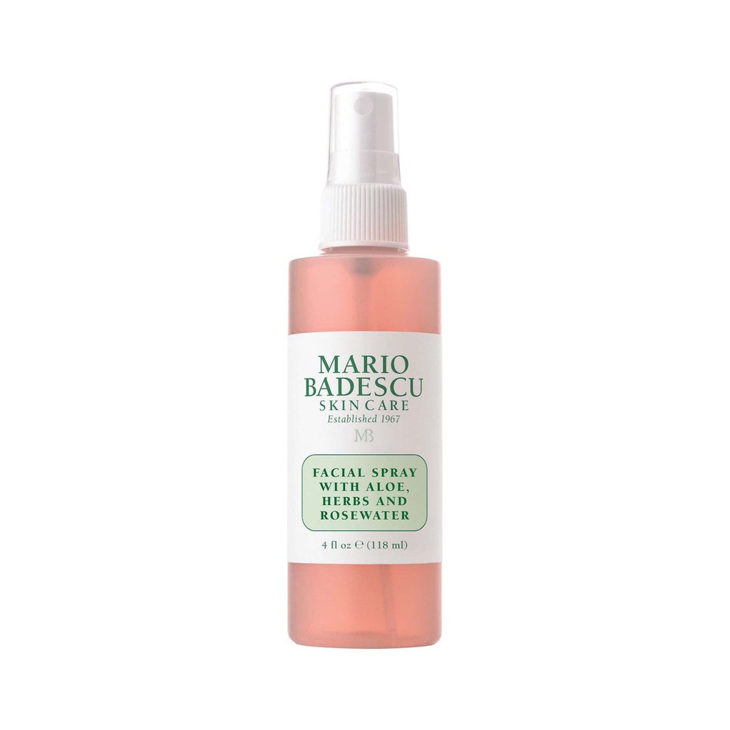 FACIAL SPRAY WITH ALOE, HERBS AND ROSEWATER - 118ML