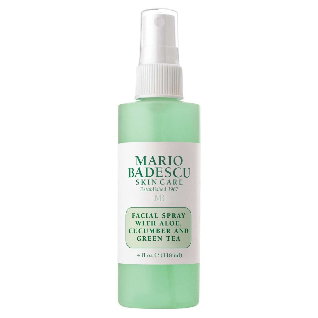 FACIAL SPRAY WITH ALOE, CUCUMBER AND GREEN TEA - 118ML