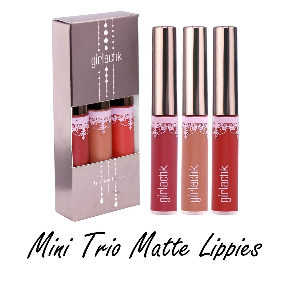 MINI TRIO MATTE LIPPIES