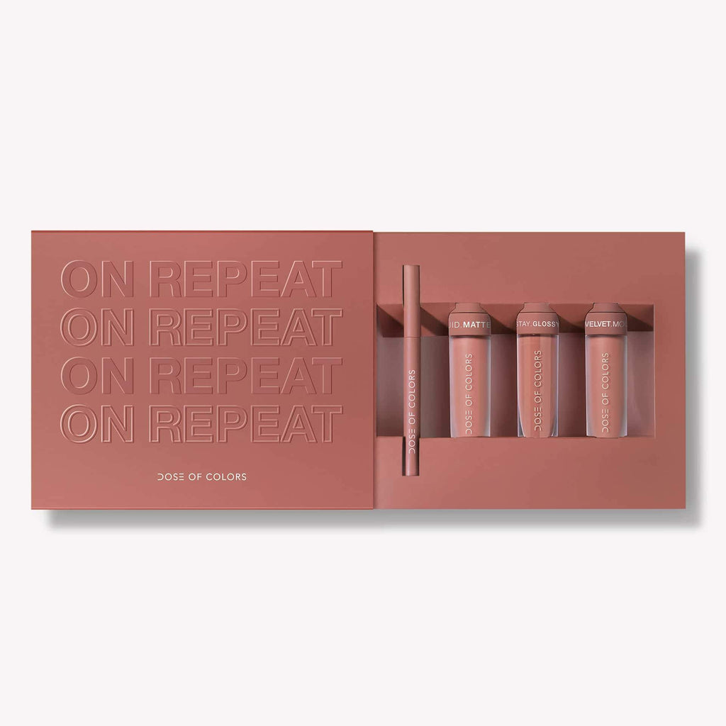 LIMITED EDITION ON REPEAT LIP SET
