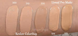 Pro-Matte Foundation - NATURAL BEIGE 105