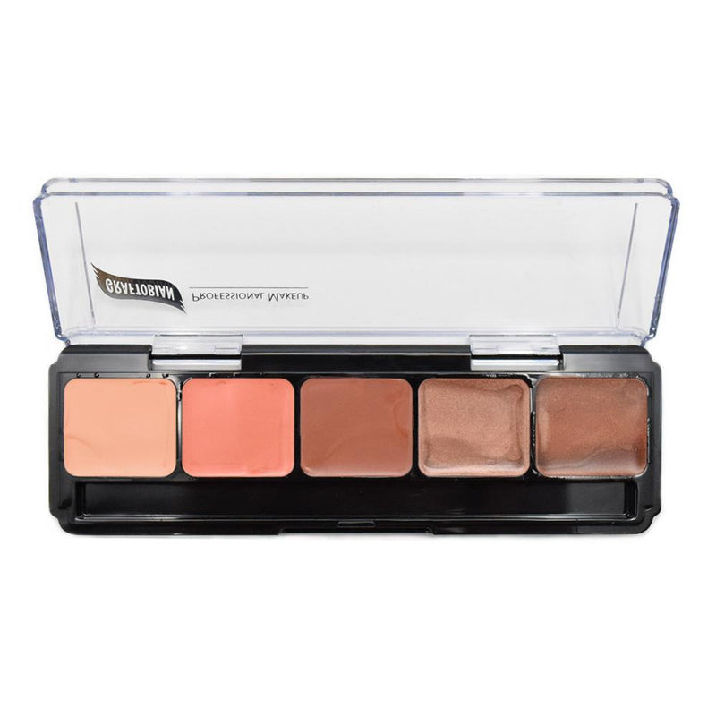 Graftobian High Definition Nude Lip Color Palette