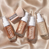 mini sol glow oil collection