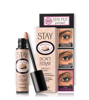 stay don't stray eyeshadow primer - Light Medium