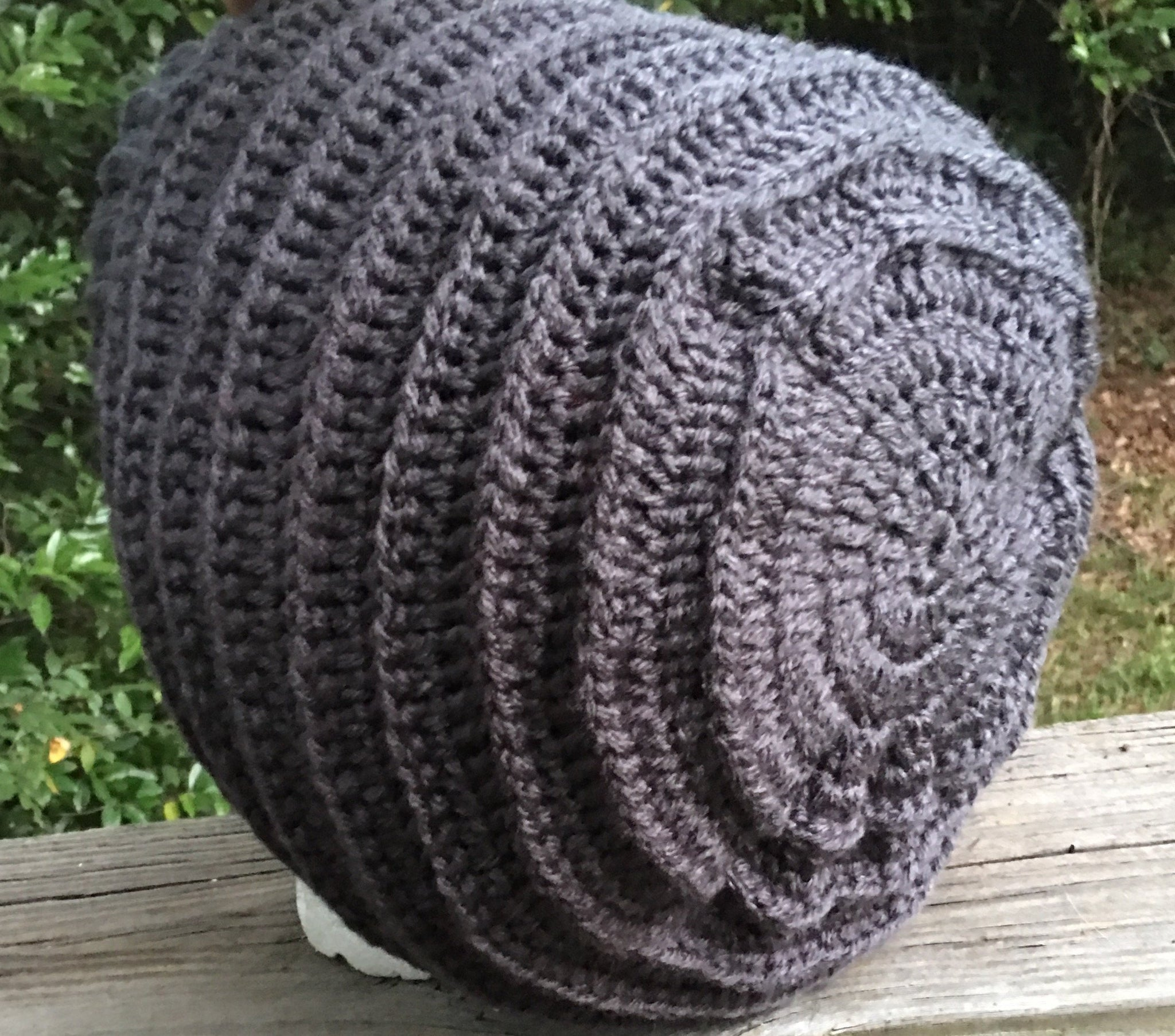 e517531ff Small Medium Large Extra Large XL oversized grey gray hippie dreads ...