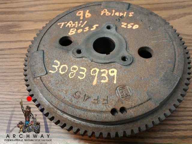 USED FLYWHEEL WITH RING GEAR