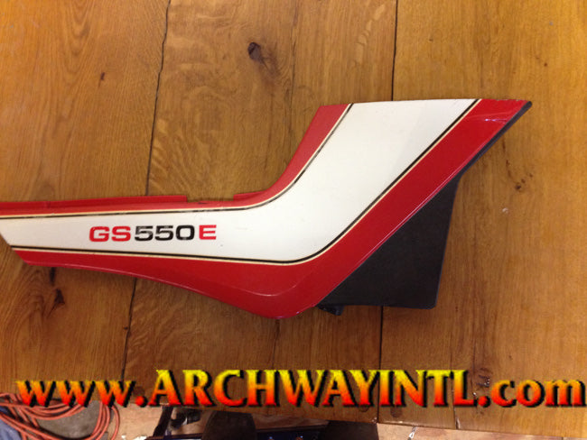 GS550ES RIGHT SIDE COVER USED 47110-43400