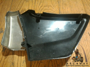 1981 Suzuki GS450T NOS OEM R/H side cover black OEM# 47110-44300-019