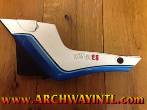 GS550ES USED LEFT SIDE COVER 47200-43830-88D