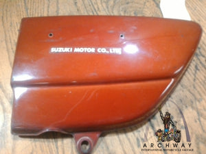 Used OEM Suzuki 1973-77 GT380 Right Side Cover 47211-34100 -157
