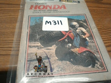 Load image into Gallery viewer, USED Clymer Honda ATC 70-125 1970-85 #M311