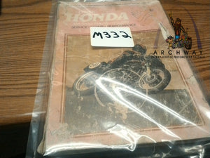 USED Clymer Service Repair Manual for 1972-77 Honda 350-550cc Fours  # M332