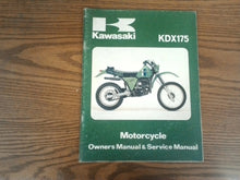 Load image into Gallery viewer, KDX175-A2 Kawasaki   99920-1122-01