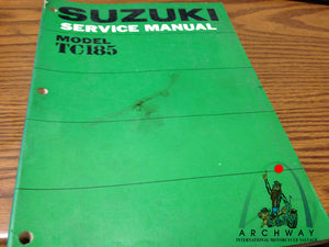 USED SUZUKI TC185 SERVICE MANUAL