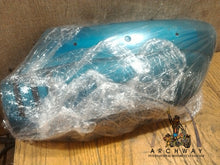 Load image into Gallery viewer, 1972 Suzuki GT750 Left SIDE FRAME COVER 47201-31811 Turquoise USED