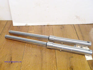 Suzuki LS650 Savage Front Fork Legs Tubes Front End OEM USED