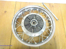 Load image into Gallery viewer, Suzuki LS650 Savage Rear Wheel 15 x 2.75 OEM Suzuki USED